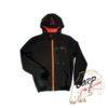 Непродуваемая куртка с капюшоном Fox Chunk Softshell Hoody Black/Orange - s