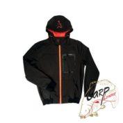 Softshell Hoody Black/Orange — Medium  непродуваемая куртка с капюшоном