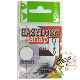 Застежка HitFish Easylock Snap 0 15lb/6.7kg 12 шт