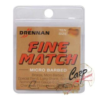 Крючки матчевые Drennan Fine Match 18