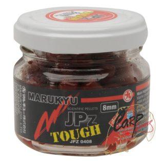 Пеллетс насадочный в дипе Marukyu JPz Tough Red 8mm 50g Jar