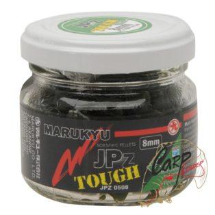 Пеллетс насадочный в дипе Marukyu JPz Tough Green 8mm 50g Jar