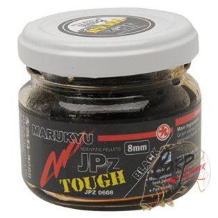 Пеллетс насадочный в дипе Marukyu JPz Tough Black 8mm 50g Jar