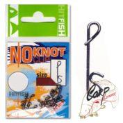 Застежка безузловая HitFish No Knot Clip 2 13lb/5.8kg 14 шт