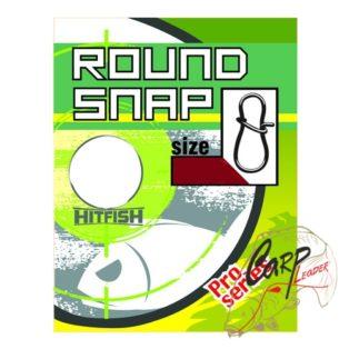 Застежка HitFish Round Snap 00 18b/8kg 13 шт