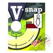 Застежка HitFish V-Snap 1 34lb/15kg 12 шт