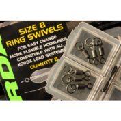 Вертлюг с кольцом Korda Ring Swivels 8 size 8