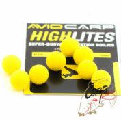 Шарик плавающий Avid Carp High Lites 10mm - Yellow