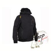 Непродуваемая куртка с капюшоном Fox Chunk Collection Orange & Black Shell Hoodie