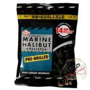 Пеллетс Dynamite Baits Marine Halibut 14 мм просверл. 350 гр.