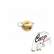 Груз чебурашка вольфрамовый 1,5 гр золото