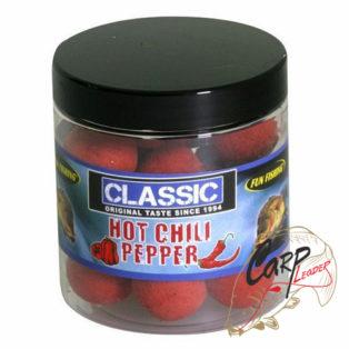 Бойлы плавающие Fun Fishing Classic Pop Ups Hot Chili Pepper 50g 15mm
