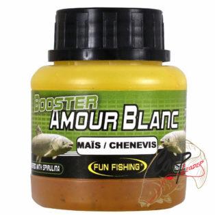 Дип Fun Fishing 100ml Amour Blanc — Booster — Mais/Ch?nevis ( кукуруза