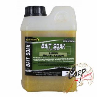 Высокоатрактивный сок для прикормки Fun Fishing Bait Soak System — Mojito Lemon 1L