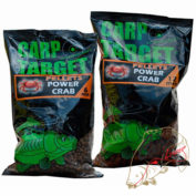 Пеллетс Fun Fishing Pellets Carp Target 6mm 800g Marron Clair Power Crab
