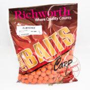 Бойлы Richworth Euroboilies 15mm 1kg Plum Royale Королевская слива ричи