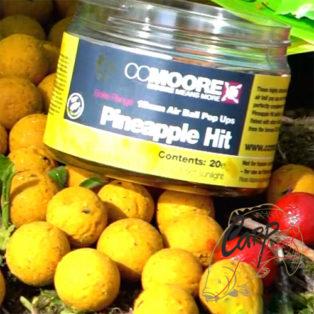 Бойлы плаващие CCMoore Pineapple Hit  Air Ball Pop-Up 15 mm ананас