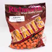 Бойлы Richworth Euroboilies 20 mm 1kg Plum Royale Королевская слива ричи