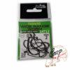 Крючок офсетный Force Wide Range Worm 216 черный никель - 4-0