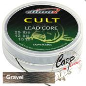 Ледкор Climax Cult Leadcore 10 m, 45 lbs, 20 kg, gravel