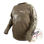 Футболка с длинным рукавом PROLogic Carp T-Shirt Long/S Sage Green