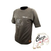 Футболка PROLogic Carp T-Shirt Short/S Sage Green