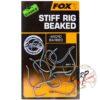 Крючки карповые Fox Edges Stiff Rig Straight - 4
