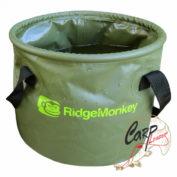 Ведро для прикормки мягкое Ridge Monkey Collapsible Water Bucket 15 litre