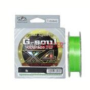 Шнур YGK G-soul X4 Upgrade PE 150m 0.3 6lb