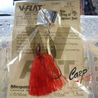 Спинербейт Megabass V-Flat Mini 5/16OZ Dw Fire Claw