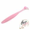Виброхвост Jackall Rhythm Wave 3.8 - pink-silver-flake