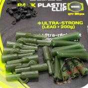 Набор безопасных клипс Fun Fishing Pack Plastic Clip x10 — Weed
