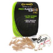 Набор безопасных клипс Fun Fishing Pack Plastic Clip x10 — Gravel
