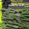 Набор безопасных клипс Fun Fishing Maxi Pack Plastic Clip - weed