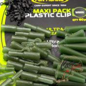 Набор безопасных клипс Fun Fishing Maxi-Pack Plastic Clip x20 — Weed