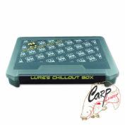 Коробка для приманок Pontoon21 Lures Chillout Box 255x190x28 чёрная/верх прозр.