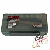Коробка для приманок Meiho Versus 356х230х50. чёрная