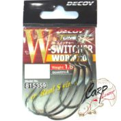 Крючок Decoy офсетный подгруженный Worm 104 3/0 5 шт.
