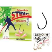 Крючок Nautilus Sting Maggots S-012BLN