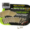 Набор безопасных клипс Fun Fishing Maxi Pack Plastic Clip - gravel