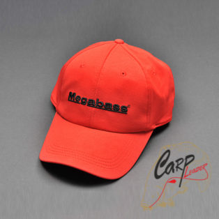 Кепка Megabass Field Cap Red/Blk