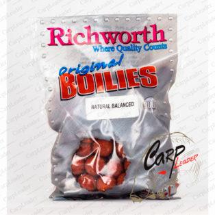 Бойлы Richworth Shelf Life 15 mm 400 g Natural Balanced