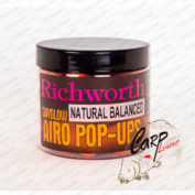 Бойлы плавающие Richworth Airo Pop-Up 15 mm Natural Balanced