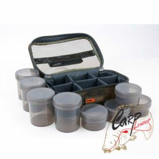 Сумка с 8 баночками Fox Camolite Glug 8 Pot Case