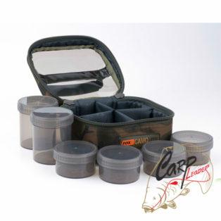 Сумка с 6 баночками Fox Camolite Glug 6 Pot Case