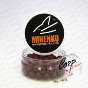 Бойлы Minenko насадочные пылящие 14 мм. серии ST Strawberry Jam