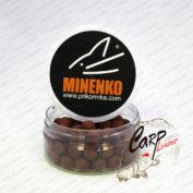 Бойлы Minenko насадочные пылящие 14 мм. серии ST Squidberry