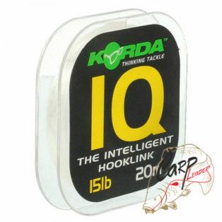 Поводочный материал Korda IQ The Intelligent Hooklink 15lb 20m
