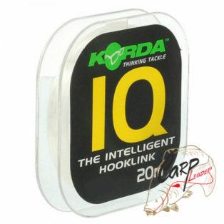 Поводочный материал Korda IQ The Intelligent Hooklink 20lb 20m