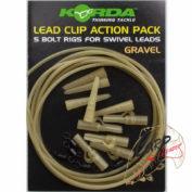 Безопасная клипса Korda Safe Zone Lead Clip Gravel